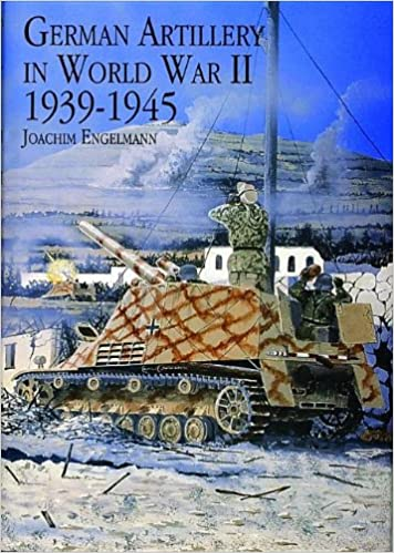 German Artillery in World War II 1939-1945 Book Cover