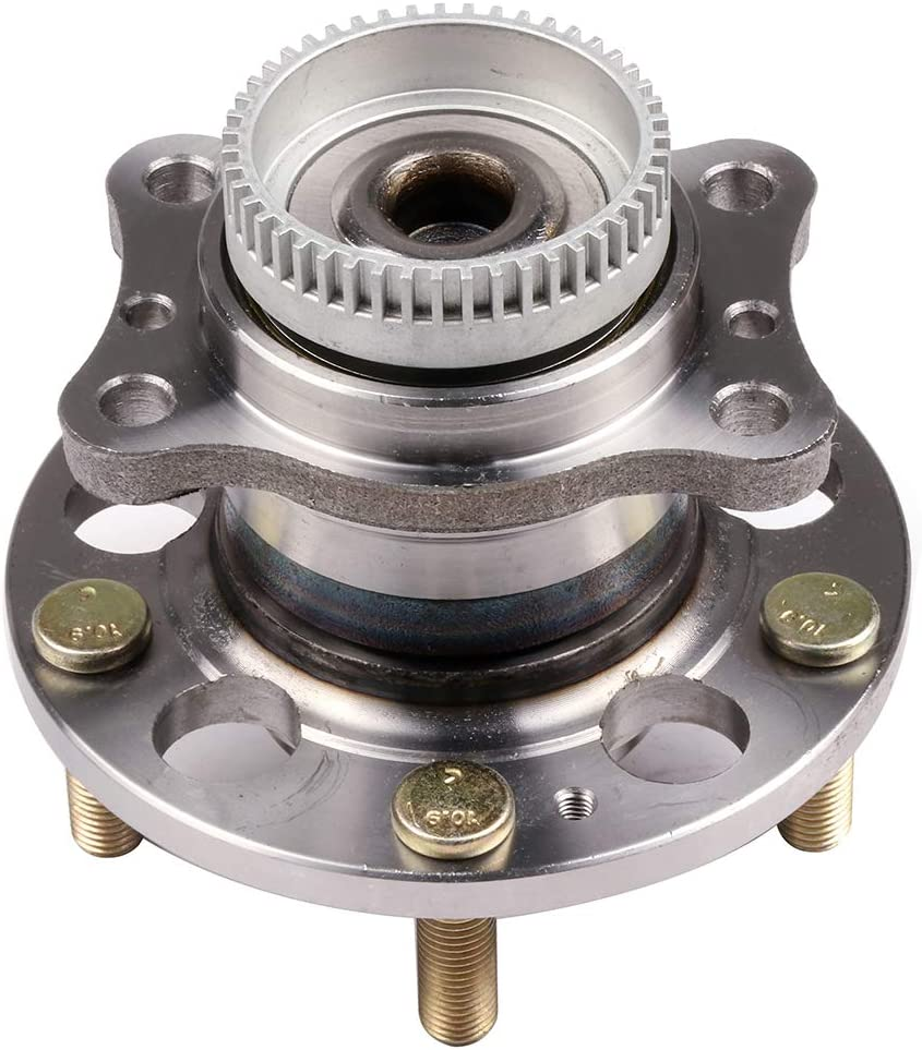 FEIPARTS 512492 Wheel Hub and Bearing Assembly Rear fit for 2011-2016 for Hyundai Elantra 2014-2016 for Kia Forte 5 Lugs Wheel Bearing Assemblies