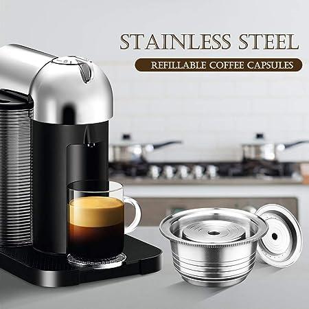 Weehey Cápsulas de café de Acero Inoxidable Vertuoline Pod Filters ...