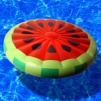 Amazon.com: Yzpyd Inflatable Giant Watermelon Rubber Ring ...