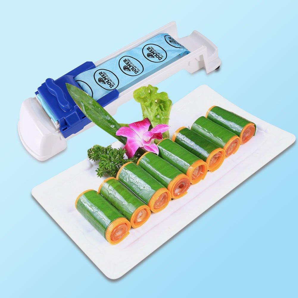 1 pieza de pl/ástico herramienta para enrollar sushi carne cocina Rodillo de carne rodillo de carne vegetal uso de la boda fiesta en casa