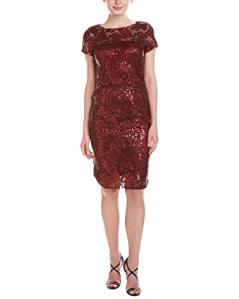 David Meister Womens Lace Sequined Cocktail Dress at Amazon ...