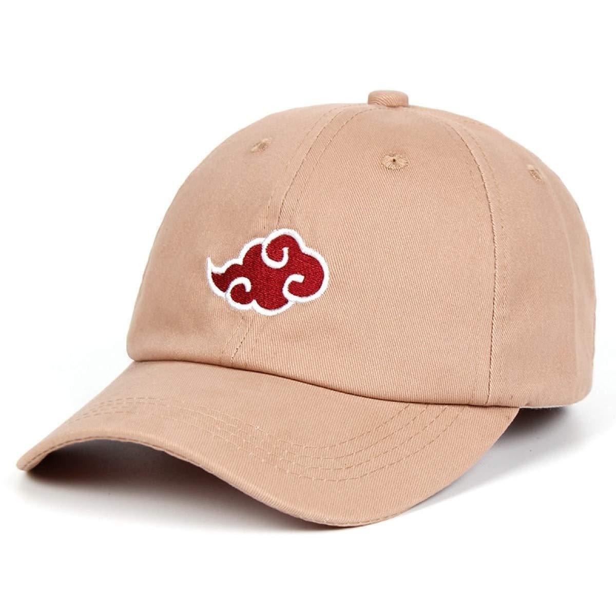 100/% Cotton Japanese Akatsuki Logo Anime Naruto Dad Hat Uchiha Family Logo Embroidery Baseball Caps Black Snapback Hats Khaki