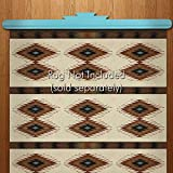 Quilt or Rug Hanger - Turquoise Painted Pine (60in)