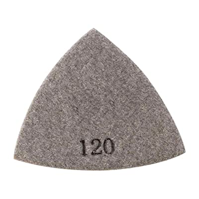 Specialty Diamond BRTRI120 120 Grit Electroplated Diamond Triangular Polishing Pad For Oscillating Tools: Home Improvement
