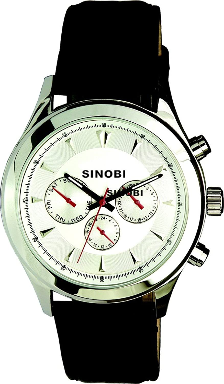 Sinobi Herren-Armbanduhr Analog Automatik 621000