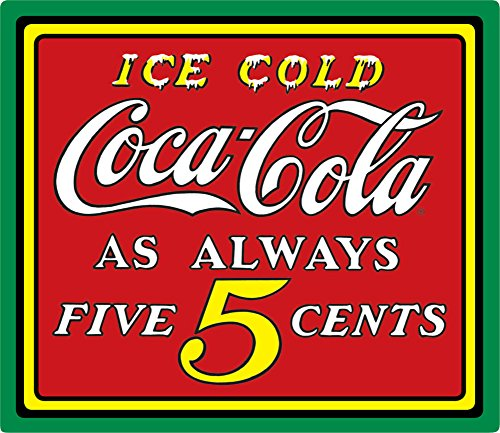 Coke Ice Cold Tin Sign 15 x 133in