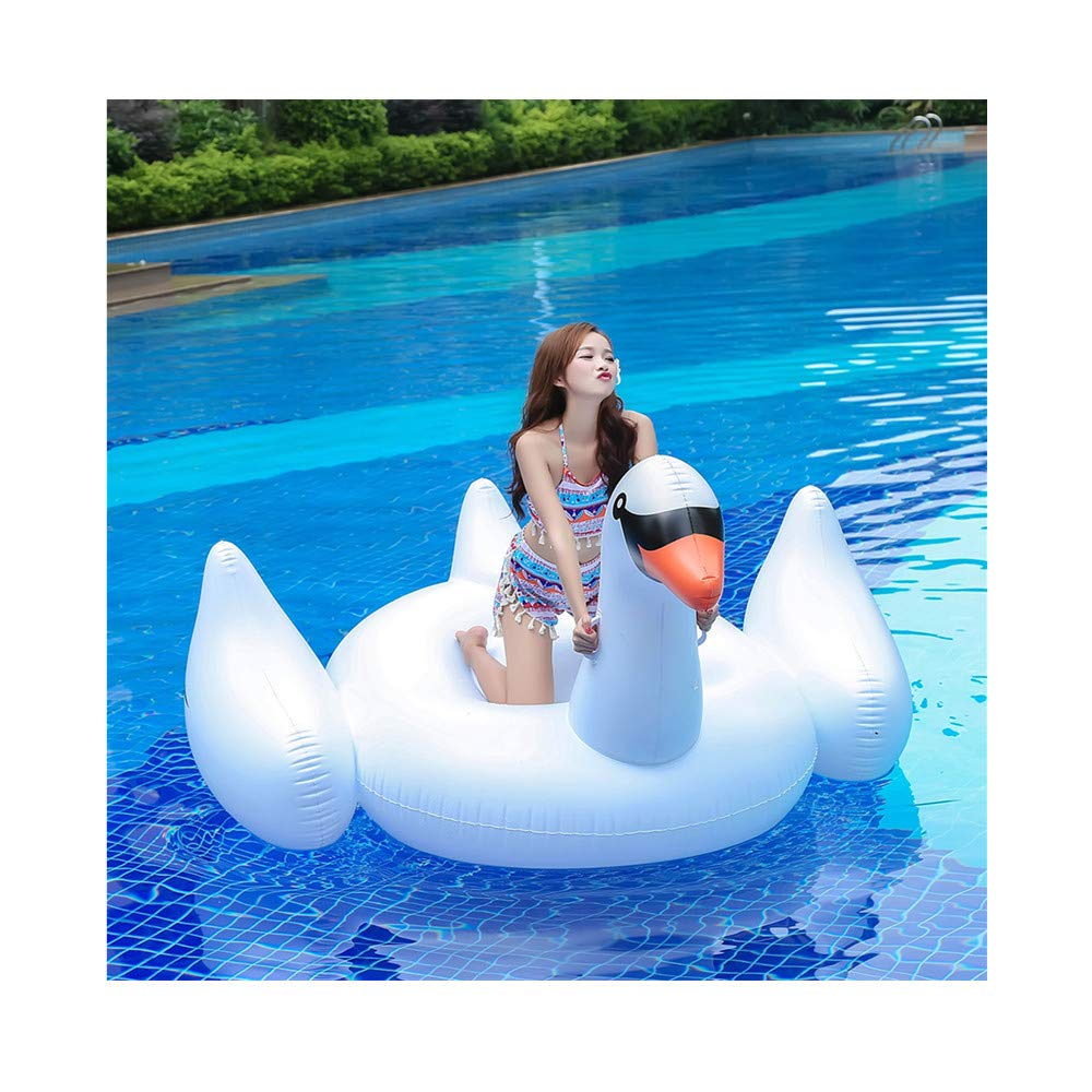 Amazon.com: Kimanli Flotante Row 74.8INL Gigante Swan Animal ...