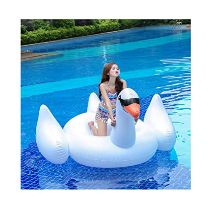 Amazon.com: Kimanli Flotante Row 74.8INL Gigante Swan Animal ...