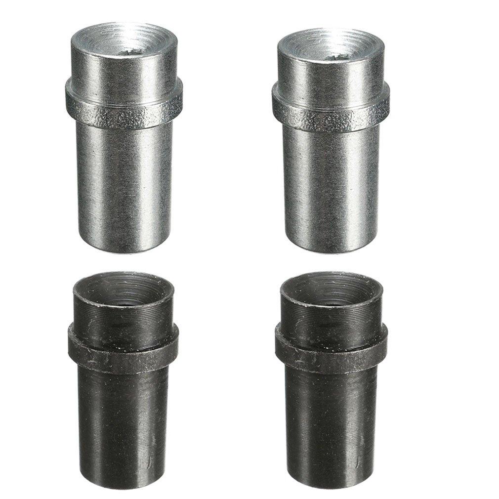 Jewboer 4pcs Iron Sandblaster Nozzle Tips,Abrasive Sand Blaster Blasting,5mm and 6mm Inner Diameter (Pack of 4)