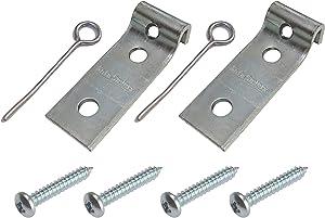 Taskar Sofa Savers Zig Zag Spring Repair Bracket Kit (Quantity: 4 Kits)