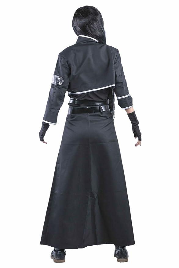 Disfraz de Anime Cosplay Kirito Santo 2 Anime traje traje de ...