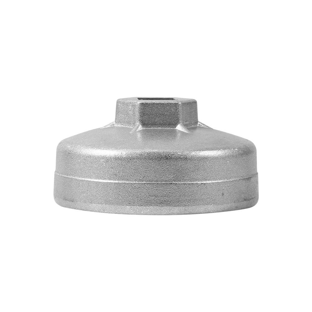 Oil Filter Cap Wrench Tool 902 Cap Oil Filter Wrench Car Socket Remover Tool Aluminum 67mm 14 Flutes