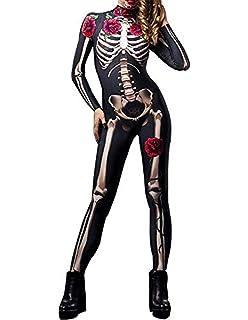POLP Halloween Mono de Disfraces de Halloween Sexy con Estampado ...
