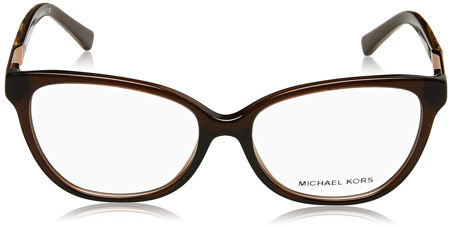 a49a8097094 Michael Kors ADELAIDE III MK4029 Eyeglass Frames 3116-Dk Brown Tigers Eye  at Amazon Men s Clothing store
