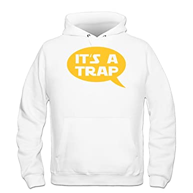 Shirtcity Sudadera con Capucha Its A Trap by