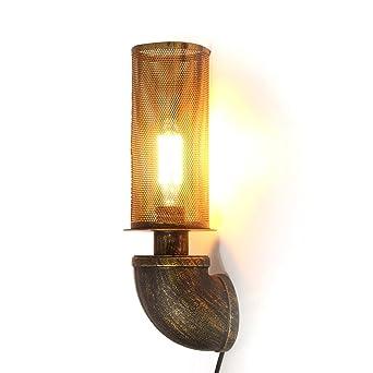 Kingso Vintage Retro Metall Wandleuchte Wandlampe Loft Lampe