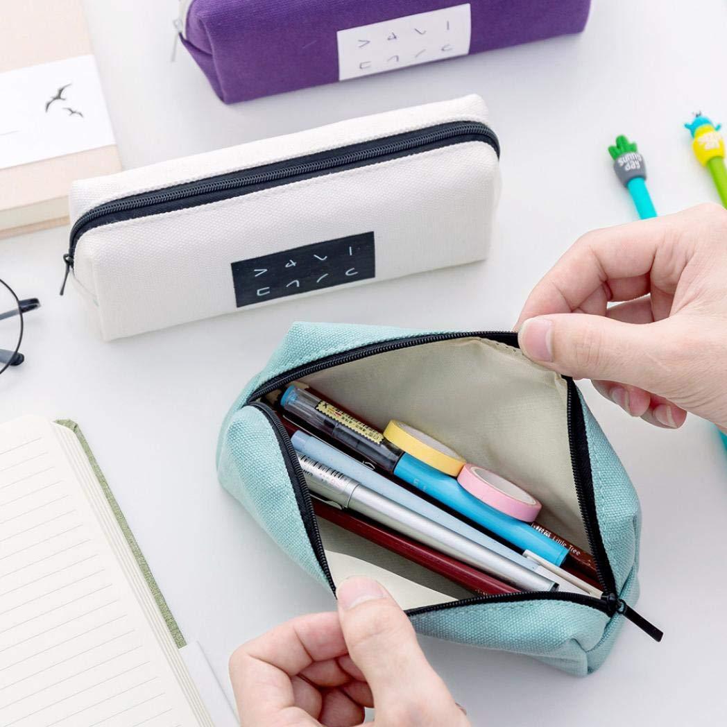 1pcs Federtasche Federmappe Federmäppchen Mäppchen für 48 Stift aus Leder