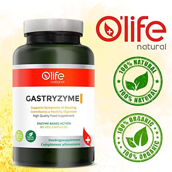 GASTRYZYME, Enzimas Digestivas de Alta Calidad, 90 cápsulas ...