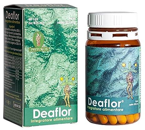 Deaflor 60 cps- Probióticos para el Re-Equilibrio de la Flora Intestinal: Amazon.es: Salud y cuidado personal
