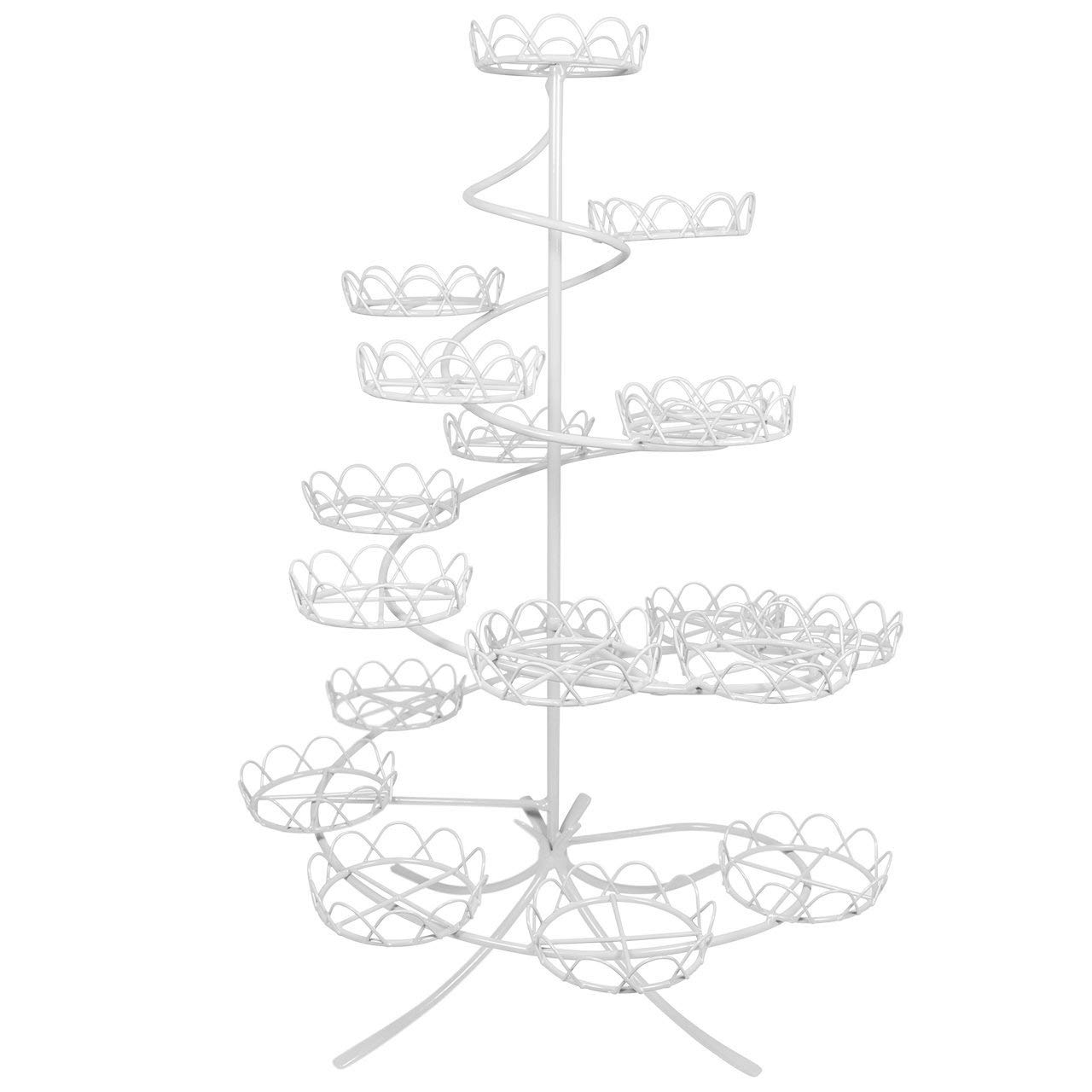 PME CS1005 Cupcake Stand-White Coated Wire, Standard,