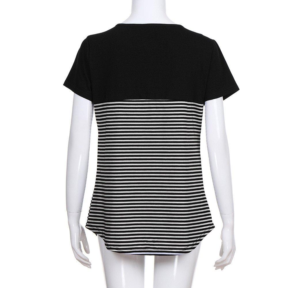 cdecf100a5b Women Round Neck Short Sleeve Top