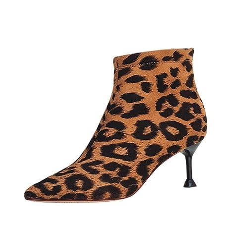 elegante il più economico belle scarpe Stivaletti bassi autunno-inverno Nuovo Stivaletti punta tacco alto ...