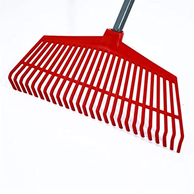 IMCROWN Gardening Plastic Grass Rake, Garden Leaf Rake with 26 Teeth Odorless and Non-Toxic Garden Tool Easy to Carry, for All Seasons and All Regions of The Country : Garden & Outdoor