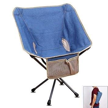 TTYY Moon Chair 4PCS Silla plegable al aire libre / interior Barbacoa Picnic Pesca Camping Boceto