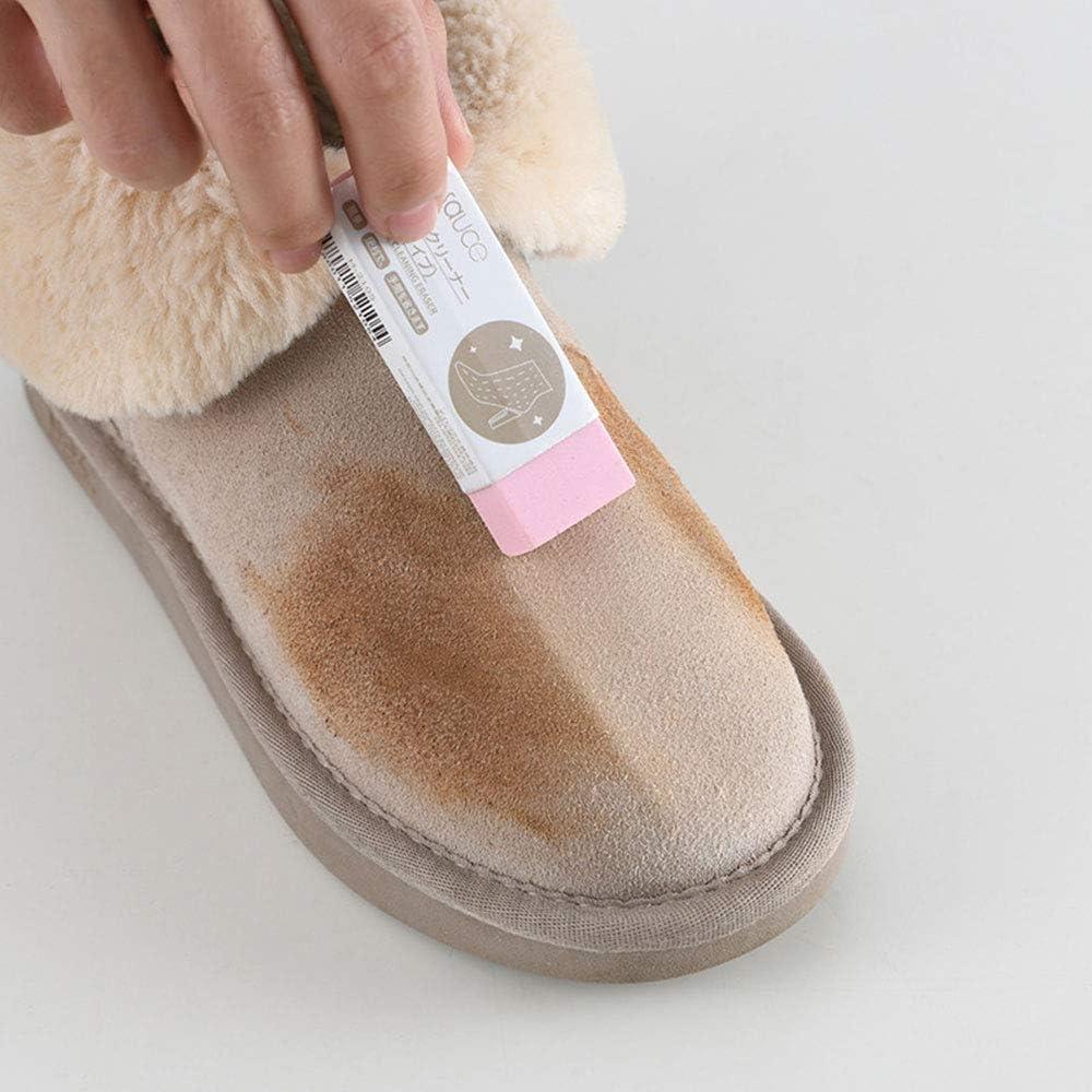 nettoyant physique avec non-toxique pour les chaussures en cuir mat et en cuir de peau de mouton en daim LUOLENG Gomme de nettoyage