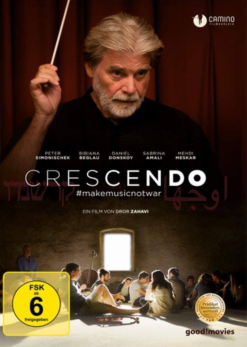 Cover: Crescendo - #makemusicnotwar 1 DVD (circa 102 min)