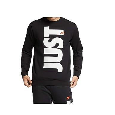 cb3b23dd6 Nike Mens Sportswear Just Do It+ Crew Sweatshirt at Amazon Men's Clothing  store: