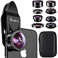 Hpory 9 in 1 Universal Cell Phone Camera Lens Kit