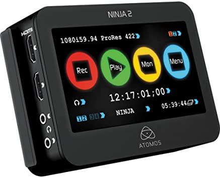 Atomos ATOMNJA003 Ninja-2 10-Bit HDMI DSLR Video Hard Disk Field Recorder