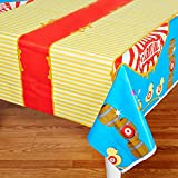 BirthdayExpress Carnival Games Party Supplies - Plastic Table Cover