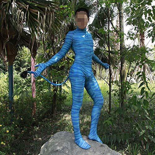 GYJVBFS Cosplay Disfraz Disfraz De Cosplay De Avatar - Lycra ...