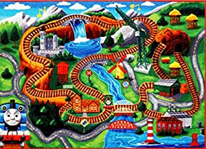 Amazon Com Thomas The Train Play Mat Hd Thomas And