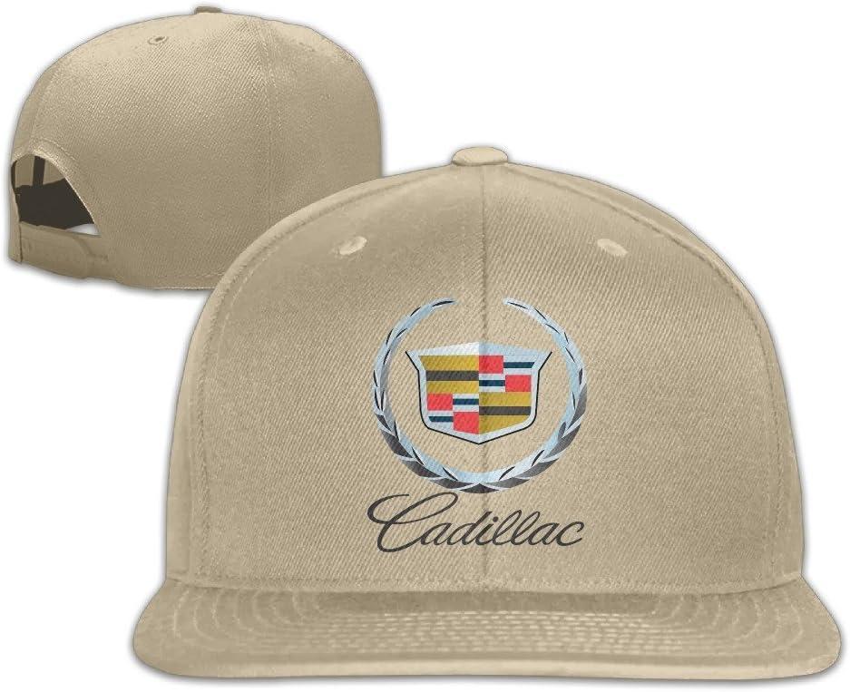 MaNeg Cadillac Logo Unisex Fashion Cool Ajustable Snapback Gorra ...