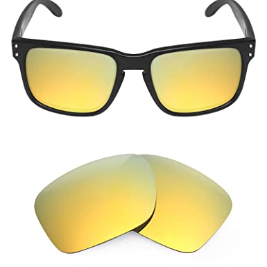 038f1248c18 Mryok Replacement Lenses for Oakley Holbrook Sunglasses - Rich Options   Amazon.co.uk  Clothing