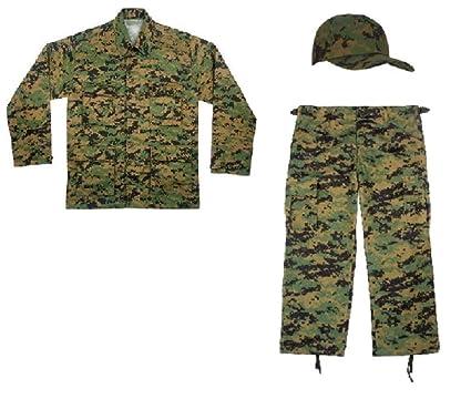 289d1eeb6039 Amazon.com  Kids Woodland 3pc Digital Camo Marines Soldier Military ...