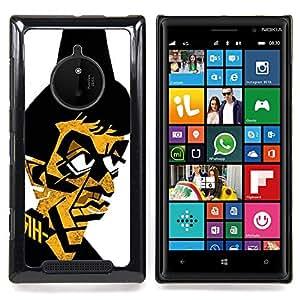 Eason Shop / Premium SLIM PC / Aliminium Casa Carcasa Funda Case Bandera Cover - Gangster Mafia Portrait Poster - For Nokia Lumia 830