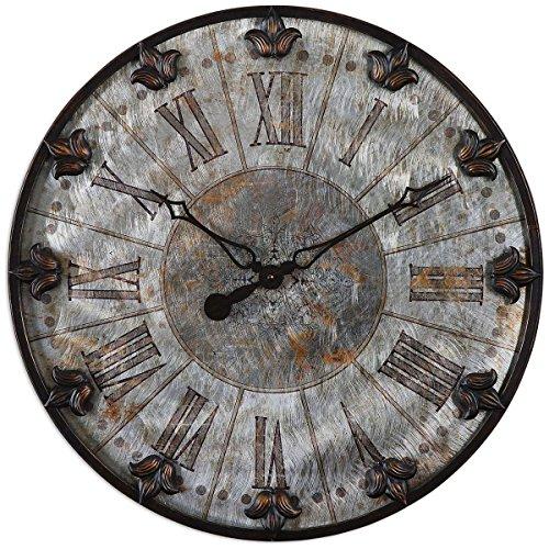 Uttermost 6643 Artemis Antique Wall Clock, Bronze