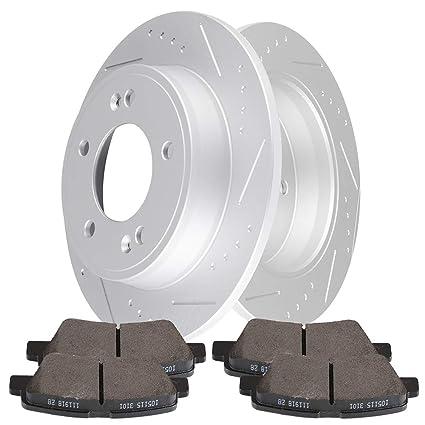 Amazon Com Cciyu Rear Premium Brake Rotors Ceramic Brake Pads Fit