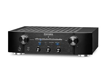 Marantz PM7005 - Amplificador de audio (2.0, 80 W), negro