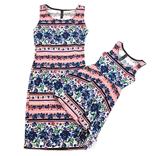 New Women Mother And Daughter Family-Matching Dresses Summer Girl Dress Clothes Outfit (M(Mom,US 4), (Outfits With Dresses)