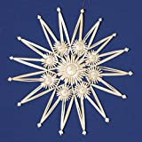Christmas Straw Ornament - Large Star Style # A, 11 inches