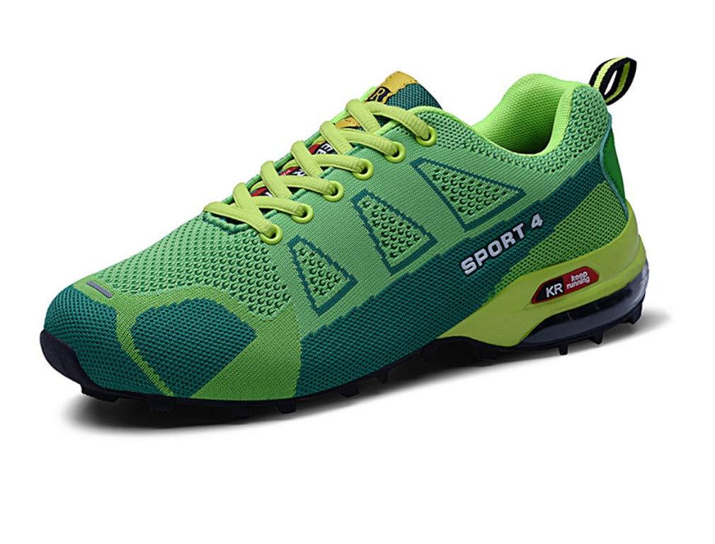 LUCKY-U Männer Wandern Schuhe, Casual Sport Laufschuhe Air Trainer Fitness Casual Sport Walk Gym Jogging Athletische Turnschuhe