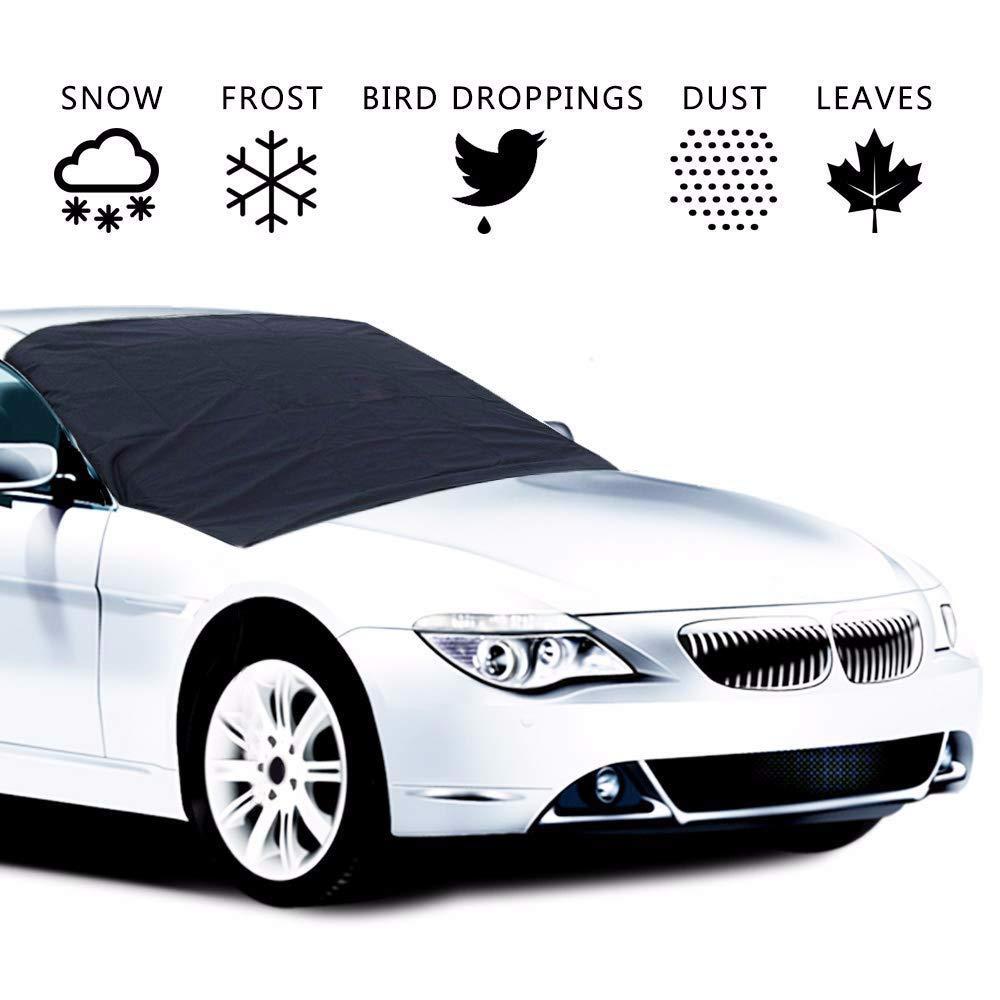 suv oder pickup lkws auto windschutzscheibe abdeckung allwetter winter sommer auto sonnenschutz besch/ützer schneeabdeckung f/ür autos faltbare multifunktionale magnet windschutzscheibe abdeckung