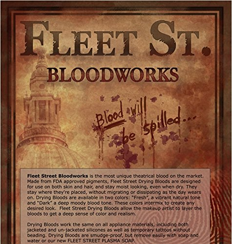 Fleet St. Bloodworks Drying Blood 16oz - (DARK) by Premiere Products, Inc.
