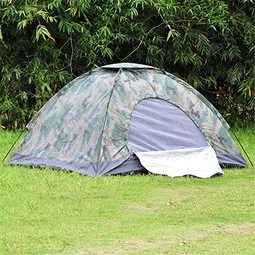HONEYY À motifs de camouflage des tentes ont 2 lits et relaxant tente tente de camping tente de camping piscine 150*200*110cm